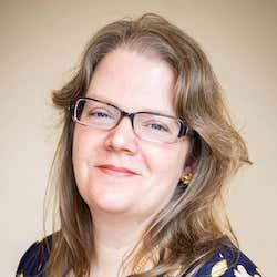 Author headshot of Julie Phillips Brown