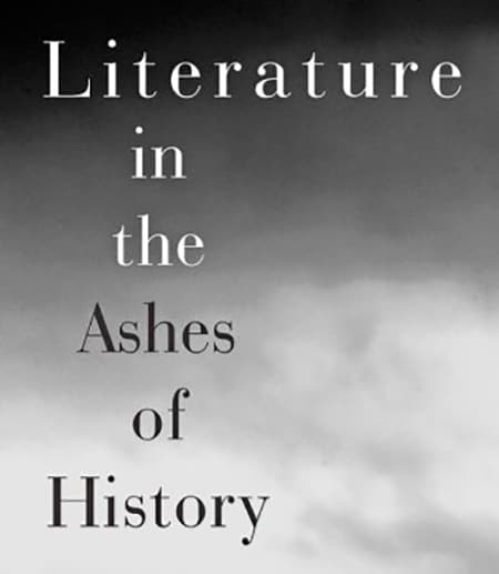 cover of literature in the ashes